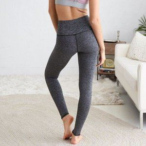 Aerie heathered gray high rise leggings size small